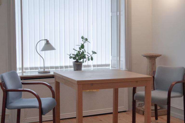 TerapiHuset Psykoterapi Østerbro stole terapi